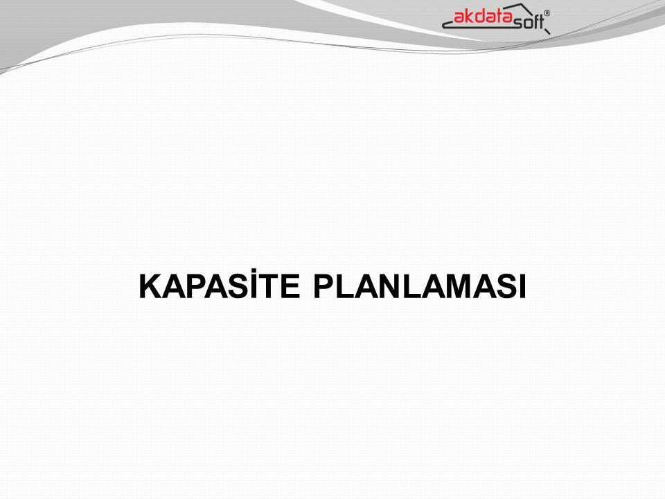 KAPASİTE PLANLAMASI