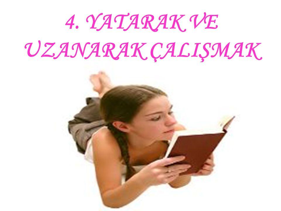 3. EVİN DEĞİŞİK YERLERİNDE ÇALIŞMAK