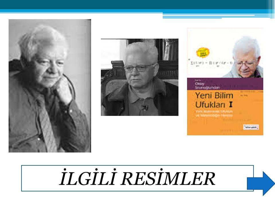İLGİLİ KİTAPLAR Oktay Sinanoğlu, Türk Aynştaynı Oktay Sinanoğlu, Bir Türk Dehası