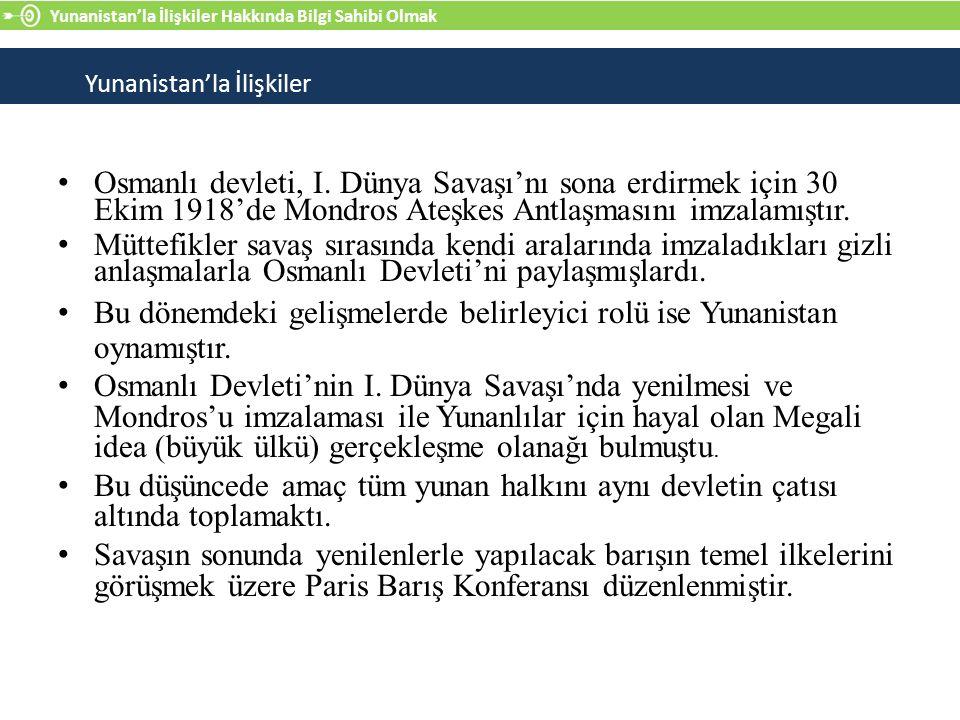 Osmanlı devleti, I.