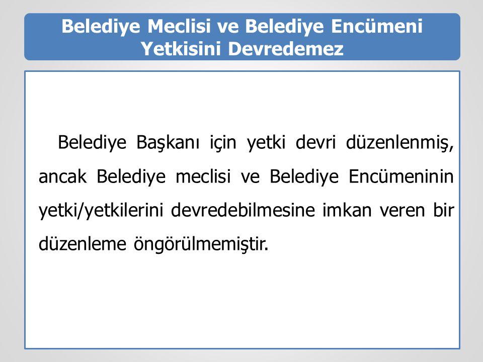 BELEDİYE BAŞKAN VEKİLİ  5393/40.