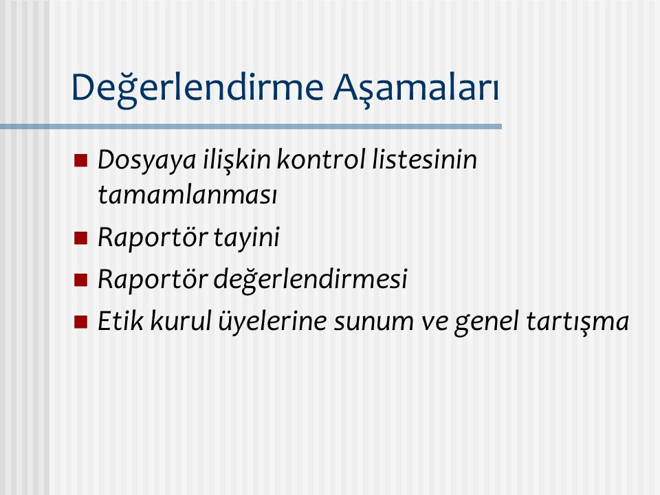 Kontrol Listesi-1 Araştırmanın adı Türkiye'de ruhsat durumu Araştırmanın özel niteliği  Cihaz  … Araştırmaya katılan merkezler  Tek merkez  Çok merkezli  Uluslararası Koordinatör merkezin YEK kararı