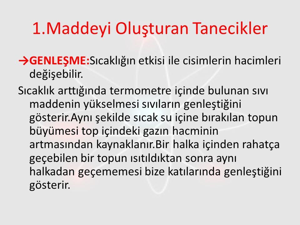 4.Maddenin Hallerinin Tanecikli Yapısı Tanecikleri birbiri ile temas halindedir.