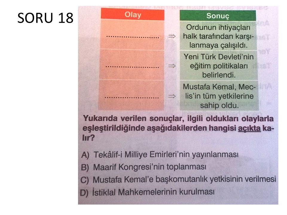 SORU 18