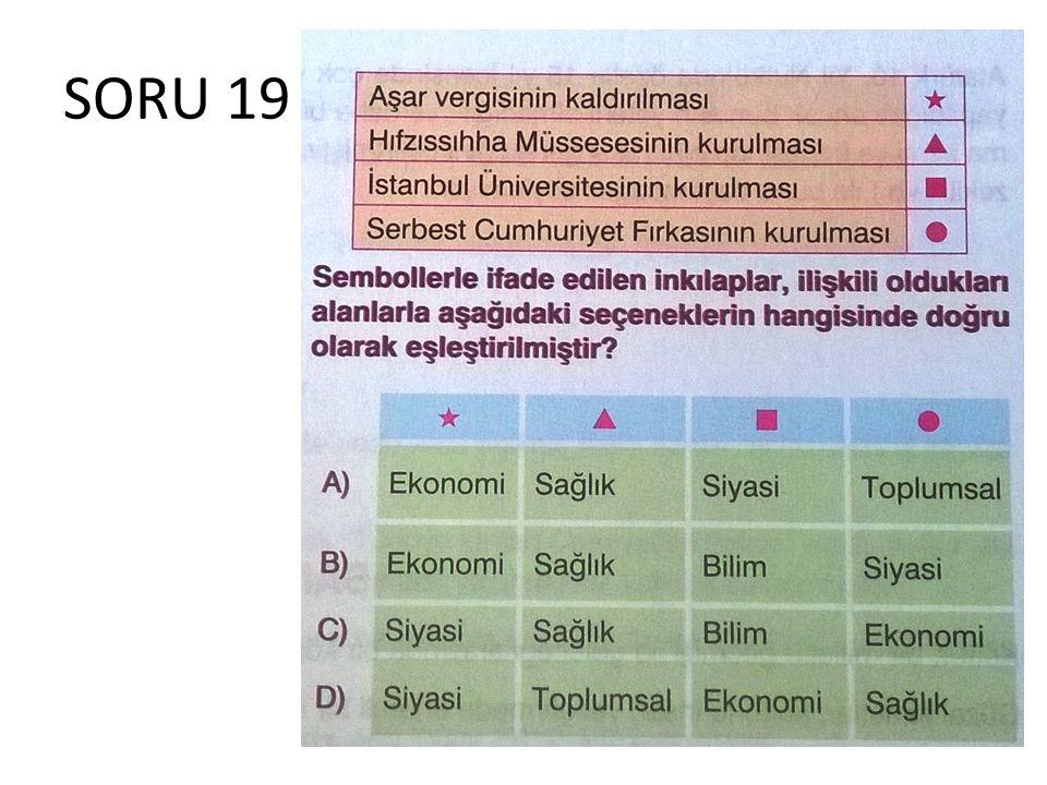 SORU 19