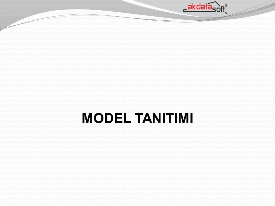 MODEL TANITIMI