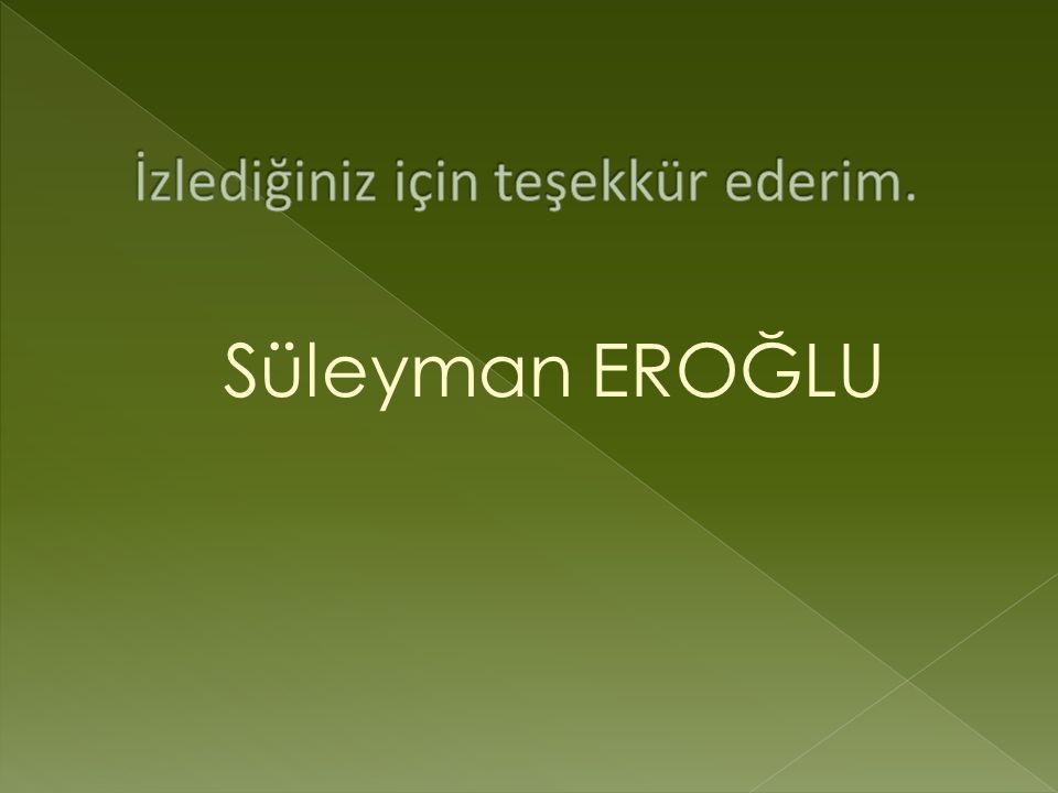 Süleyman EROĞLU