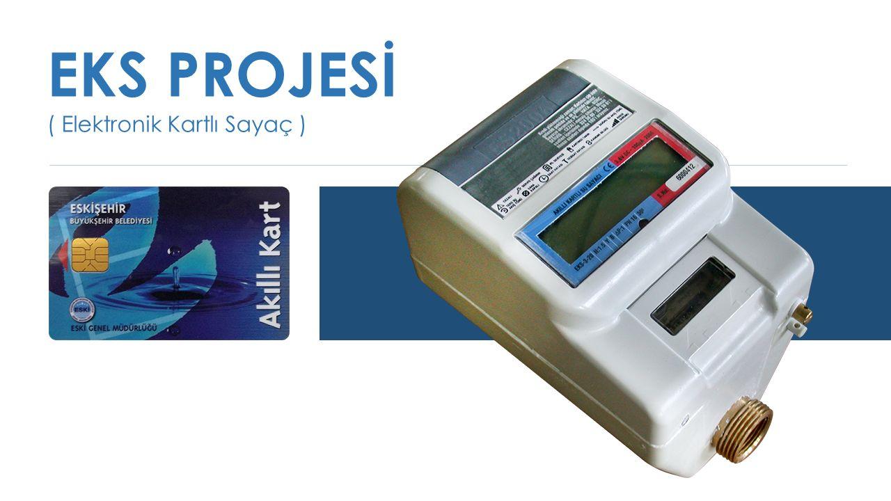 EKS PROJESİ ( Elektronik Kartlı Sayaç )