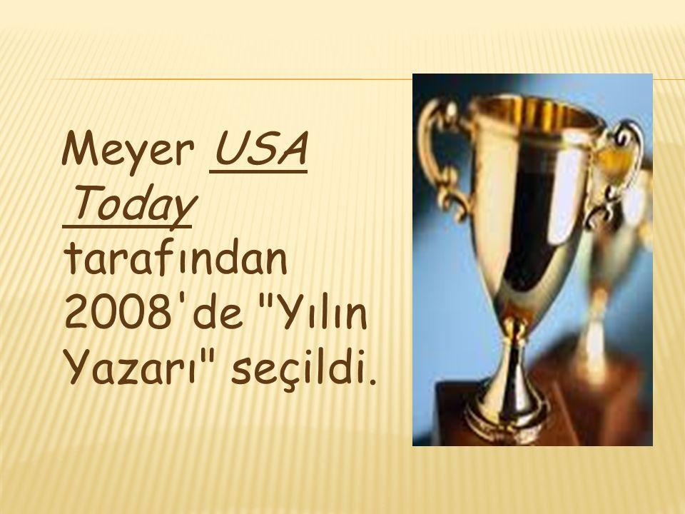 Meyer USA Today tarafından 2008'de