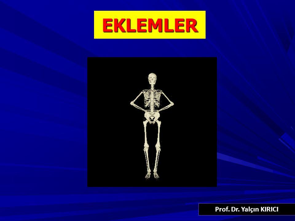 52 ARTICULATIO TEMPOROMANDIBULARIS Bikondiler tip eklemdir (DİZ GİBİ) Eklem dıştan N.FACIALIS, içten n.