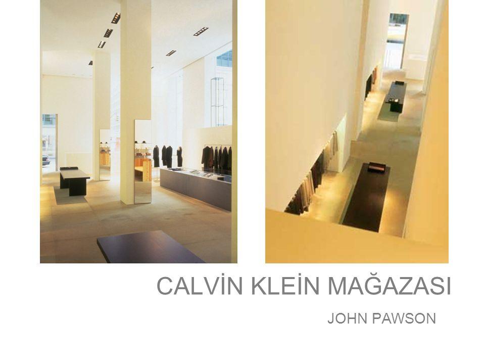 CALVİN KLEİN MAĞAZASI JOHN PAWSON