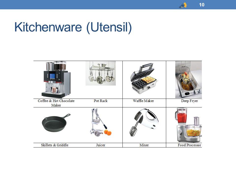 Kitchenware (Utensil) 10
