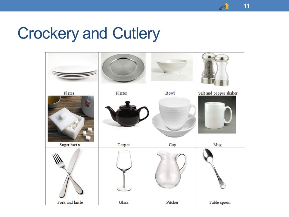 Crockery and Cutlery 11