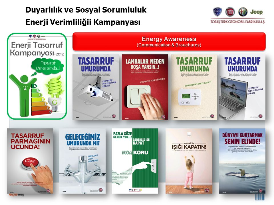 5th June 2012 – Happy EARTH Day 5th June 2012 – Happy EARTH Day A certificate of Appreciation to TOFAS Duyarlılık ve Sosyal Sorumluluk Dünya Çevre Günü Etkinlikleri