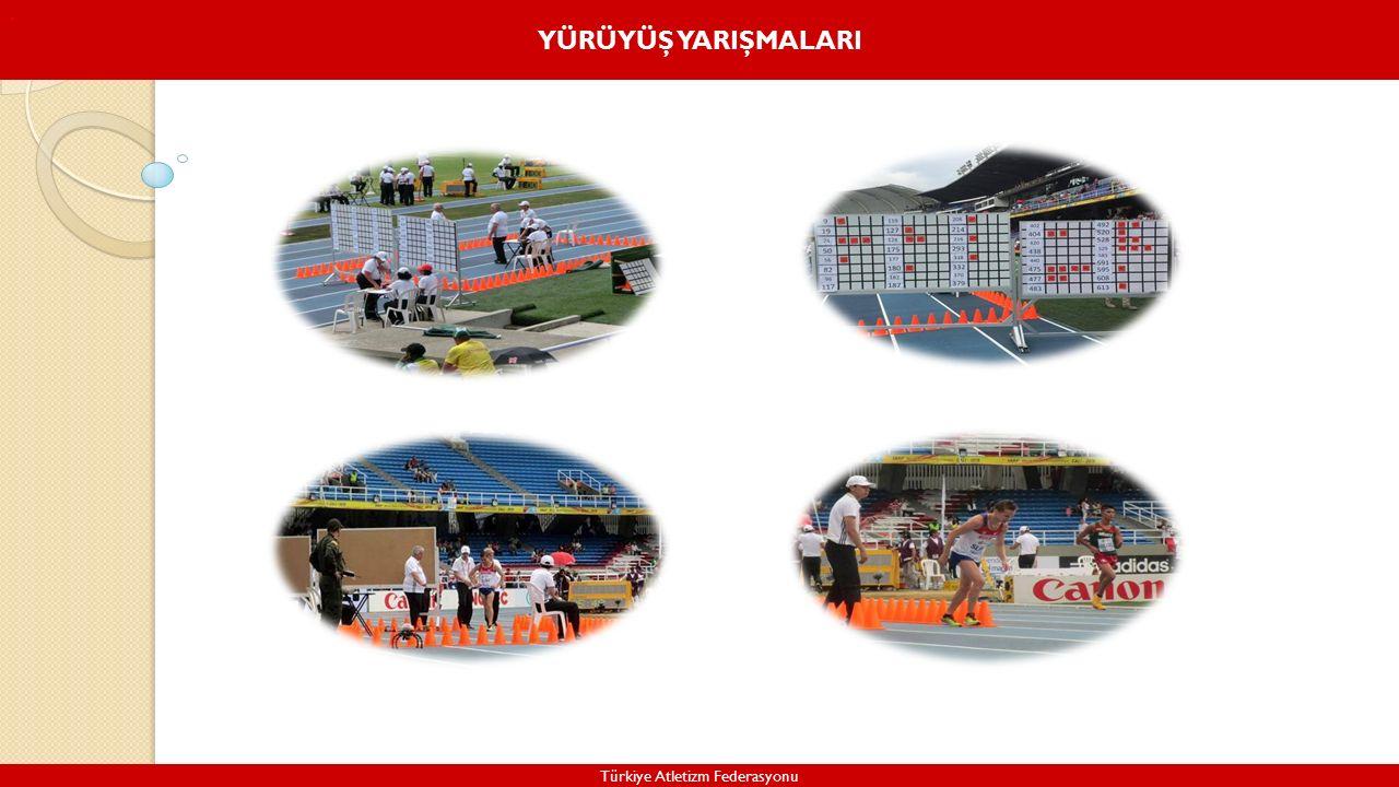 YÜRÜYÜŞ YARIŞMALARI Türkiye Atletizm Federasyonu.