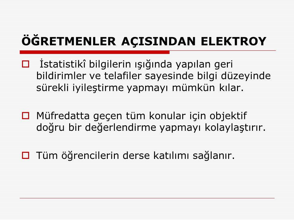 SINIF ANALİZİ