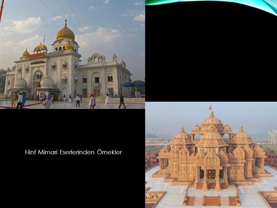 Hint Mimari Eserlerinden Örnekler