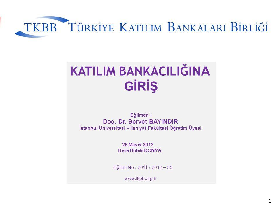 HADİSLERDE FAİZ YASAĞI -Bank-ı Dersaâdet (1847) : (Osmanlı'da ilk banka; Banker Th.