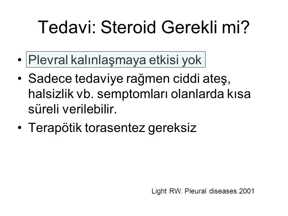 Tedavi: Steroid Gerekli mi.