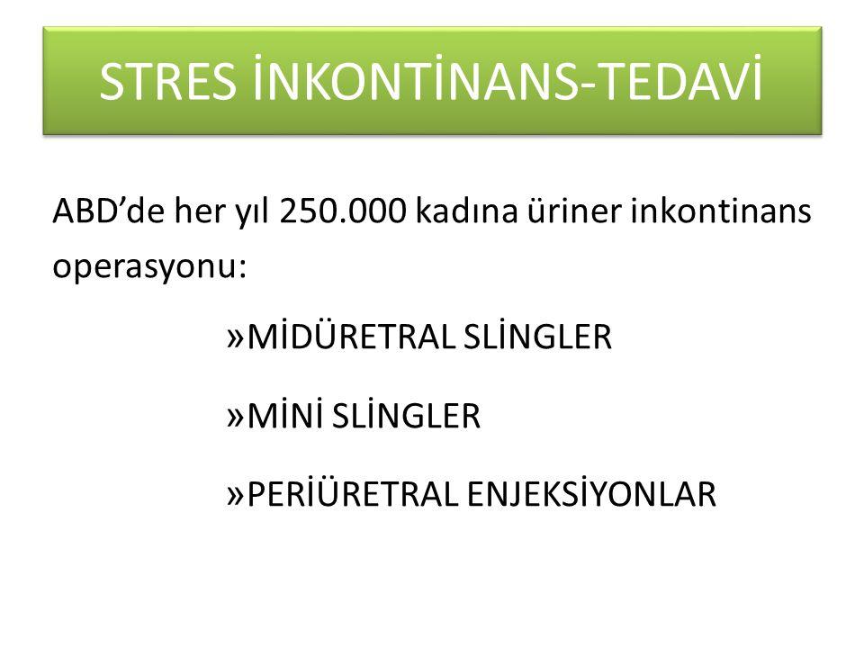 AVANTAJLARI Uygulaması kolay Genel anestezi gerektirmeyen Morbiditesi az olan Minimal invaziv