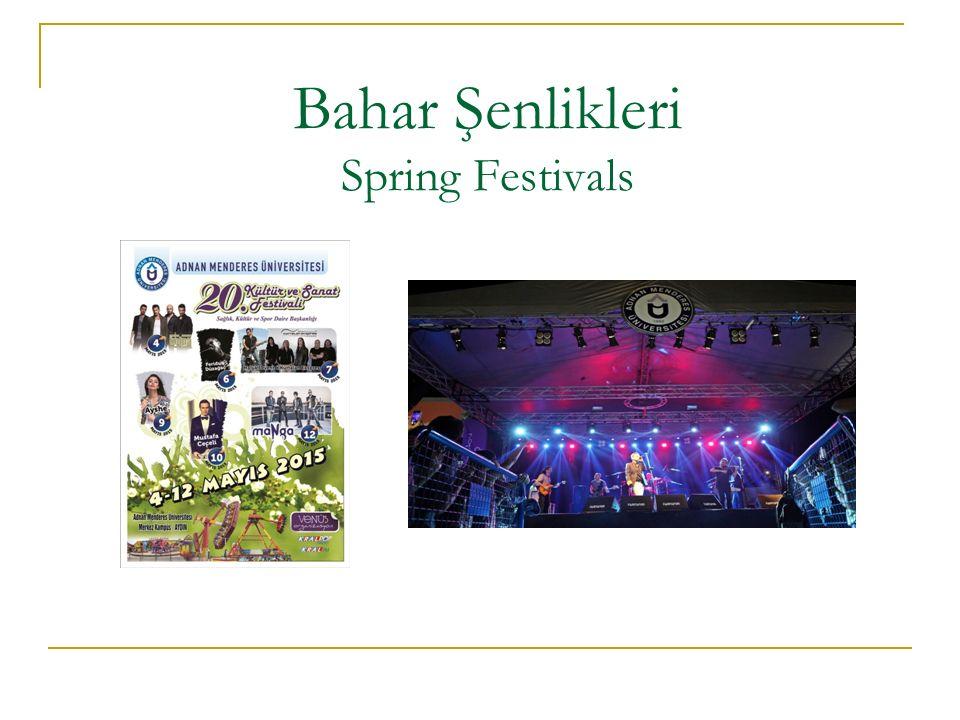 Bahar Şenlikleri Spring Festivals
