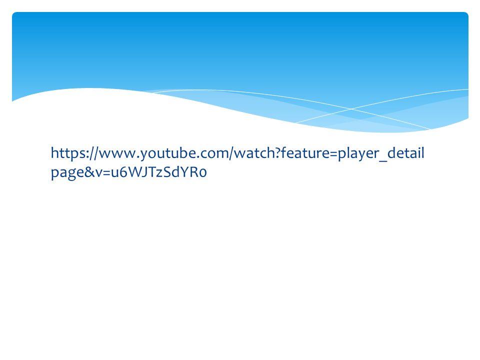 https://www.youtube.com/watch?feature=player_detail page&v=u6WJTzSdYR0