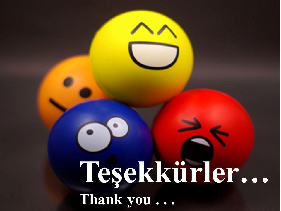 Teşekkürler… Thank you...