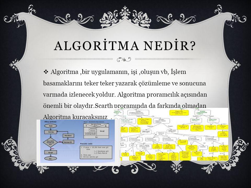 GENEL PROGRAMLAMA  1.