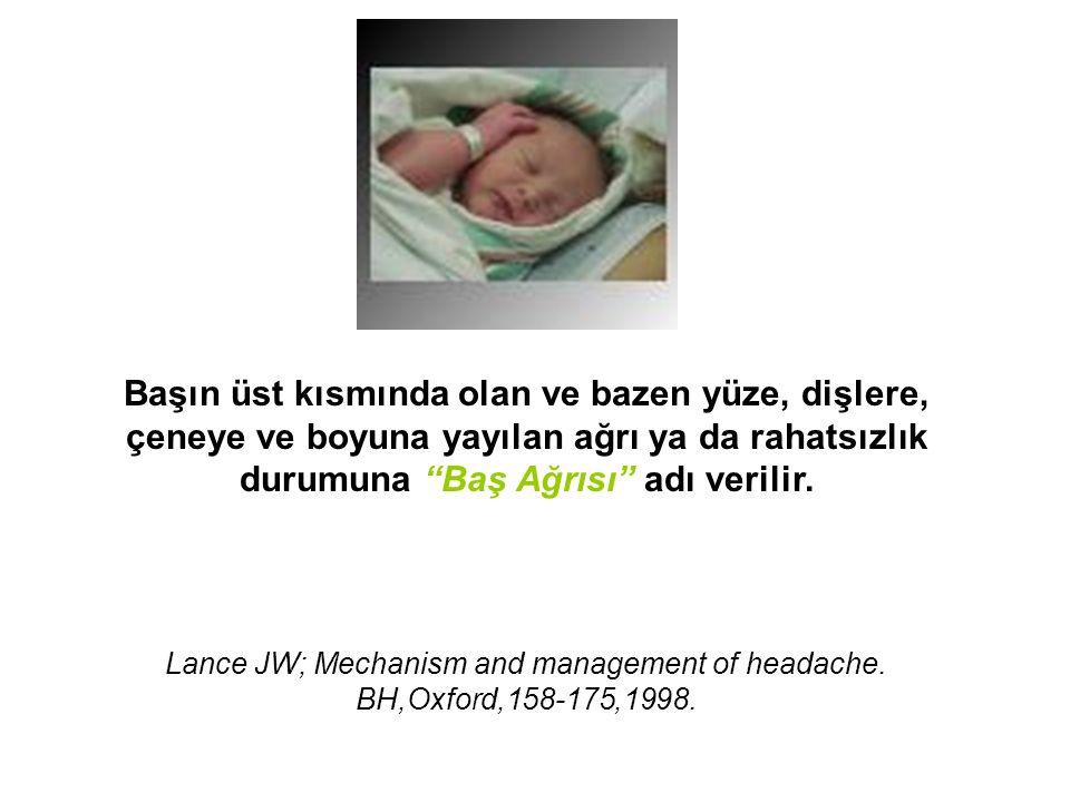  En sık görülen trigeminal otonomik sefalji  Hastanın yerinde duramadığı en şiddetli baş ağrılarındandır!!.