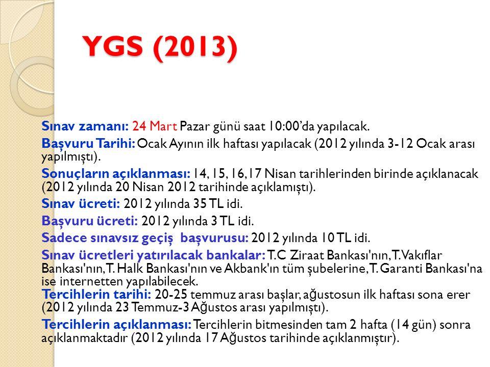 LYS-3 (TÜRK D İ L İ VE EDEB İ YATI – CO Ğ RAFYA-1) 56 Türk Dili ve Edebiyat + 24 Co ğ rafya-1 - 56 Edebiyat sorusuna 85 dakika - 24 Co ğ rafya–1 sorusuna 35 dakika Toplam 80 soruya 120 dakika süre verilecek.