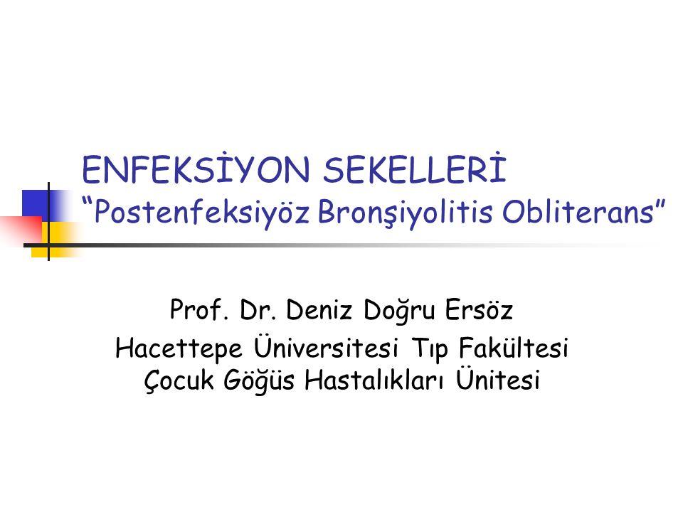 Postenfeksiyöz Bronşiyolitis Obliterans