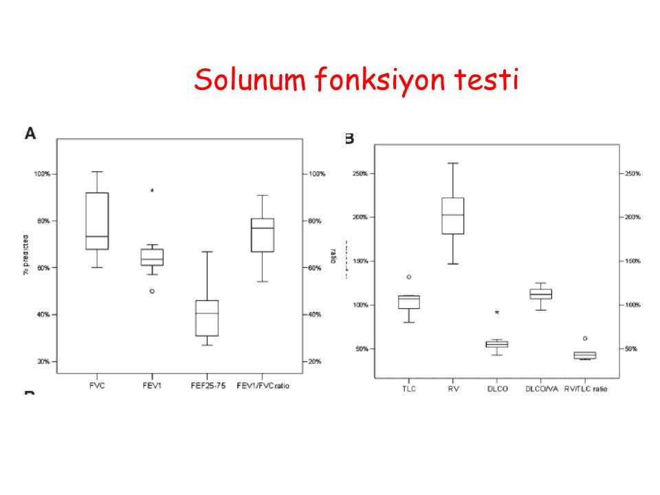 Solunum fonksiyon testi