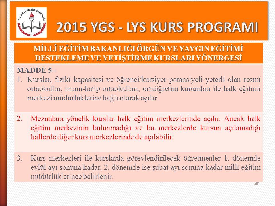 LYS' DEKİ TESTLER VE KAPSAMLARI Test Testin Kapsamı Soru Sayısı Sosyal Bilimler (LYS4) Tarih Testi Coğrafya -2 Testi Felsefe Grubu Psikoloji Sosyoloji Mantık Din Kültürü ve Ahlak Bilgisi (veya Felsefe Grubu Soruları) 44 14 8 Yabancı Dil Sınavı(LYS5) Sözcük bilgisi ve dil bilgisi Çeviri Okuduğunu anlama 20 12 48