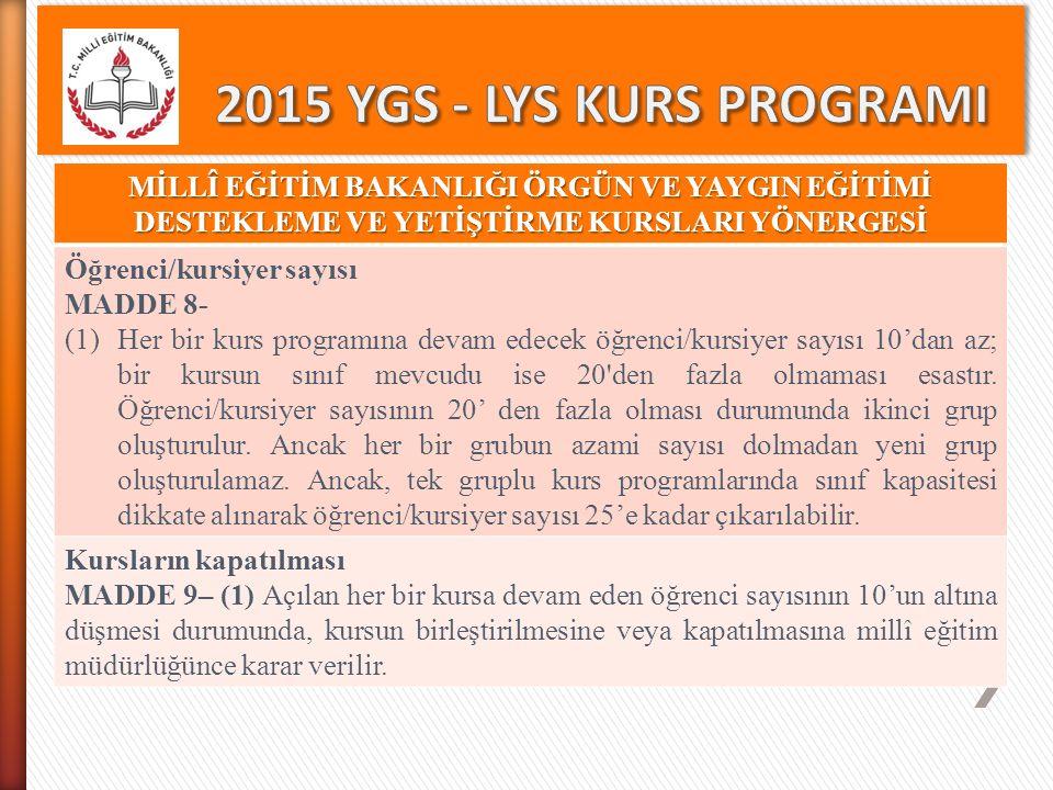 LYS PUAN TÜRLERİ Puan Türü Testlerin Ağırlıkları (%) YGS LYS (LYS 5) Türkçe Sosyal Bilimler Temel Matematik Fen Bilimleri Yabancı dil DİL - 1 1596565 DİL - 2 25137550 DİL -3 48207520