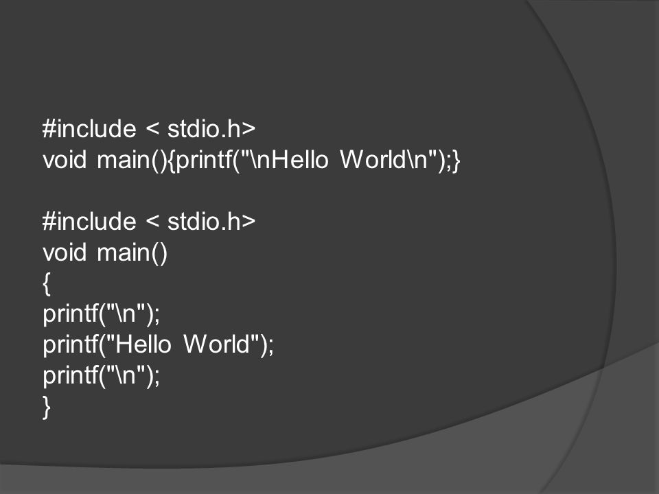 #include void main(){printf(