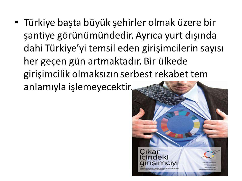 Türkiye başta büyük şehirler olmak üzere bir şantiye görünümündedir.