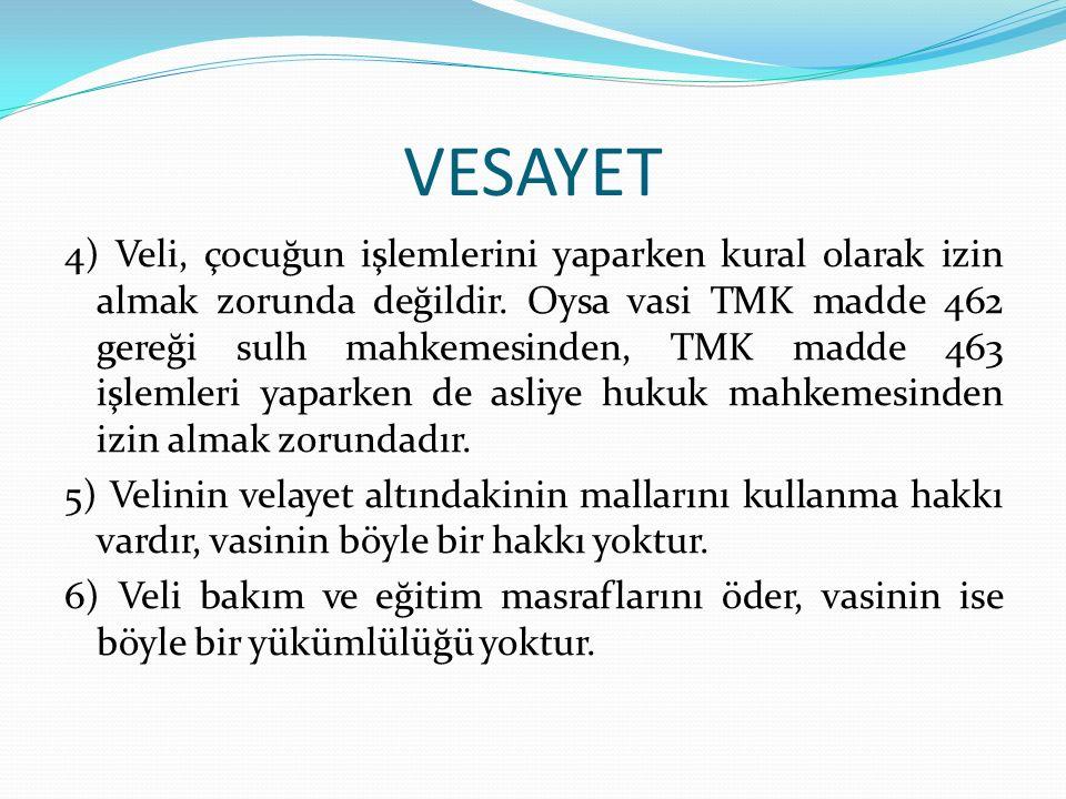 VESAYET Temsil kayyımı: Kayyım, belirli bir işte kayyım atandığı kişiyi temsil etmek üzere görevlendirilmişse ona temsil kayyımı denir.
