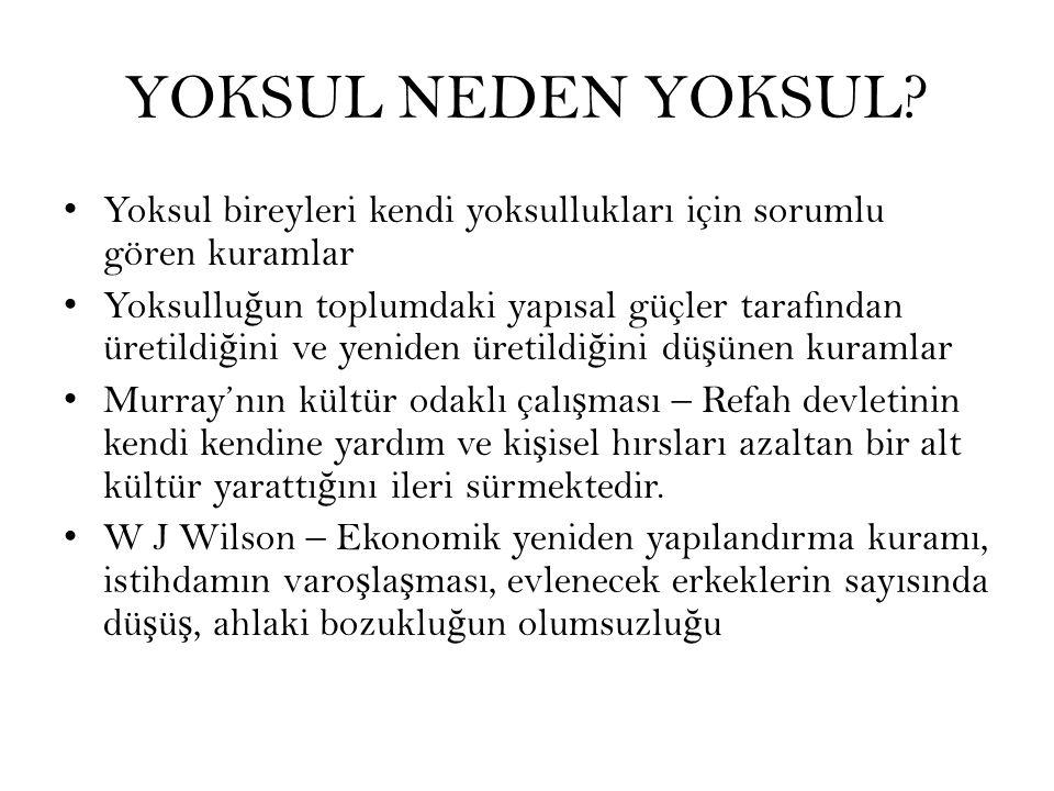 YOKSUL NEDEN YOKSUL.
