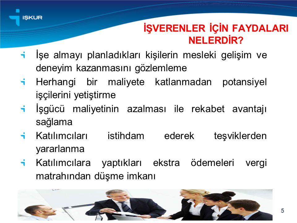 İŞVERENLER İÇİN FAYDALARI NELERDİR.