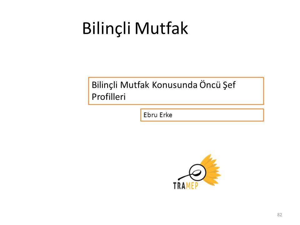 82 Bilinçli Mutfak Ebru Erke Bilinçli Mutfak Konusunda Öncü Şef Profilleri