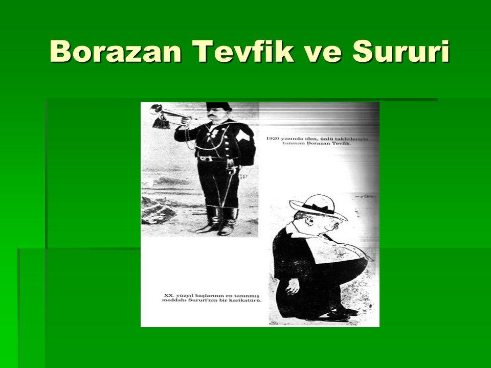 Borazan Tevfik ve Sururi