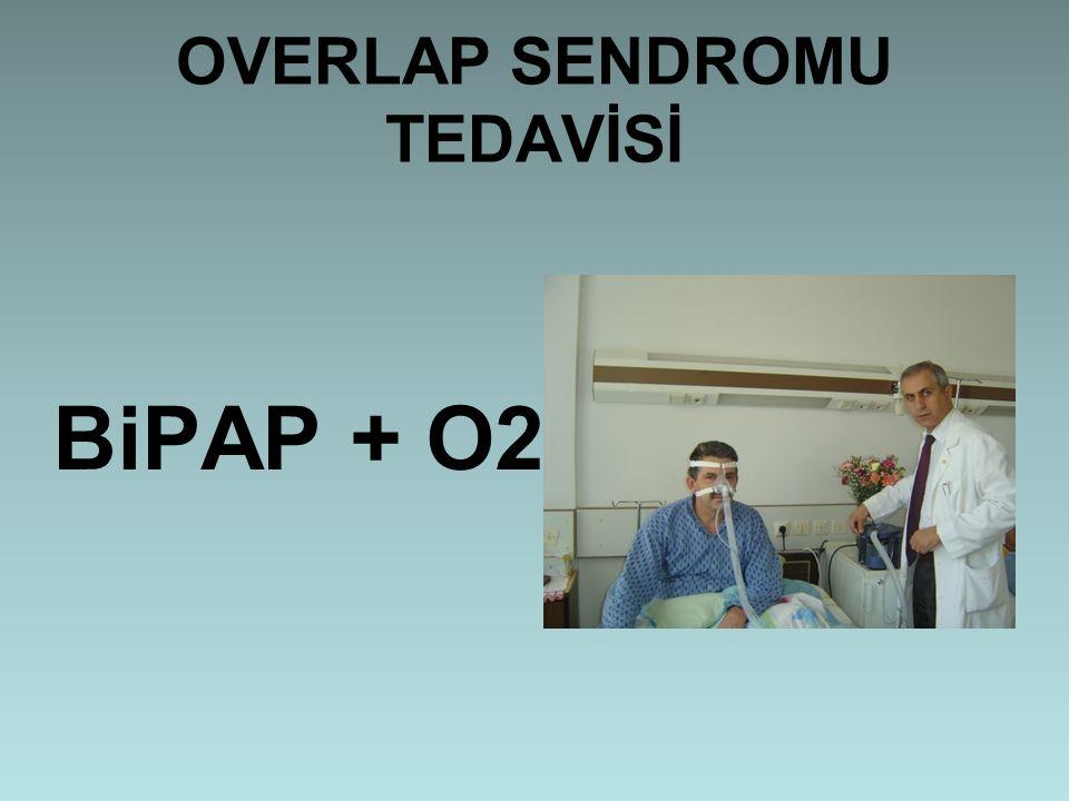 OVERLAP SENDROMU TEDAVİSİ BiPAP + O2