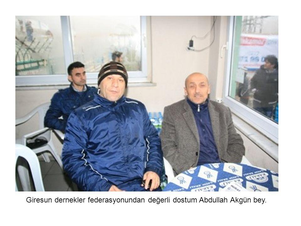 Abdullah Akgün bey ve dostları bir arada