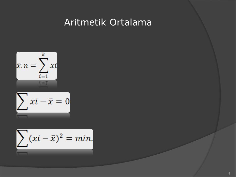 Aritmetik Ortalama 4