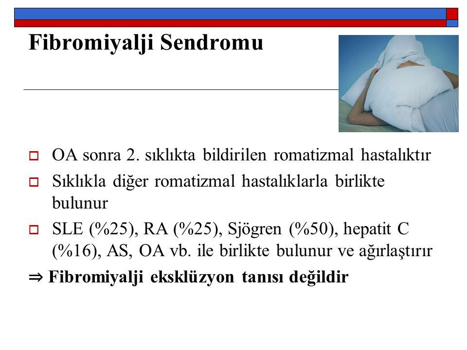 Fibromiyalji Sendromu  OA sonra 2.
