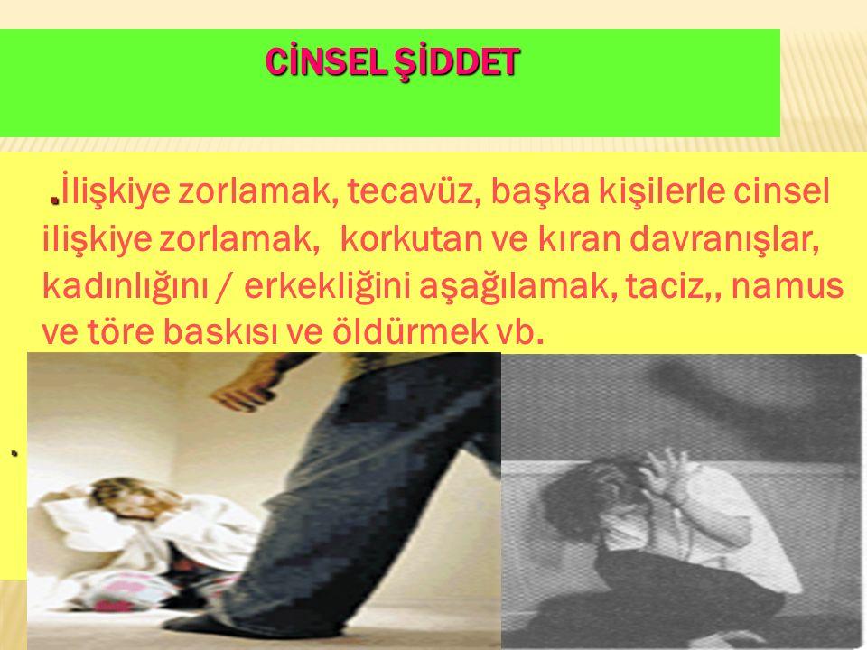 10 CİNSEL ŞİDDET..