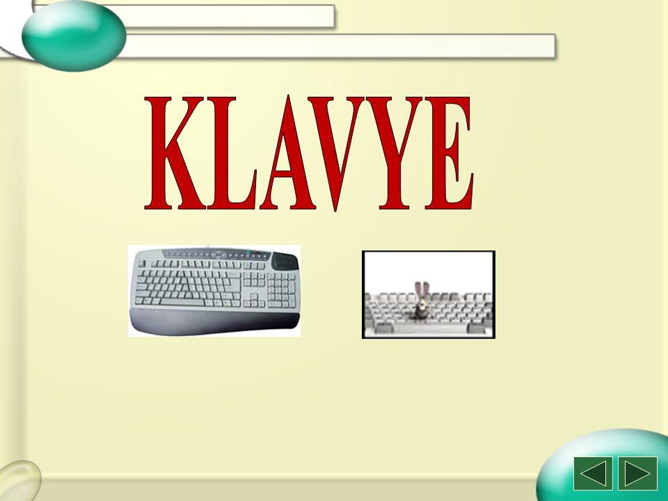 Bilgisayarda yazı yazabilmek, veri ve komut girişi yapabilmek için klavye kullanılır.