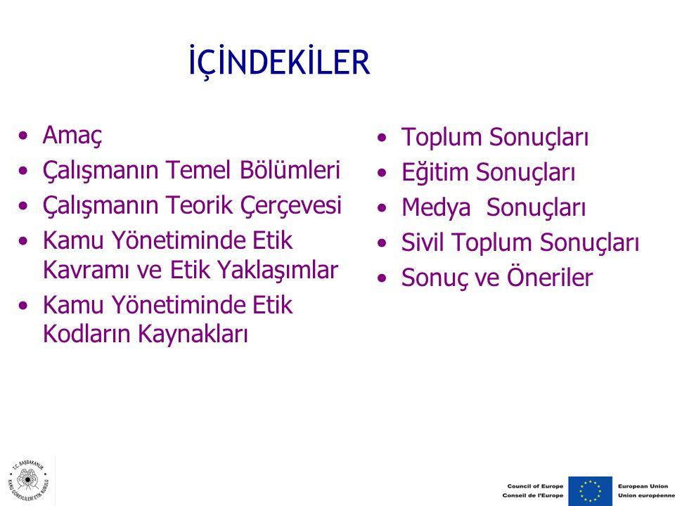 Türkiye'de Kamu Görevlilerinin Kendini ve Vatandaşı Algısı Temel amaç devletin ve toplumun yararı olduğu için vatandaşın beklentisi ve hizmet ikinci plandadır.