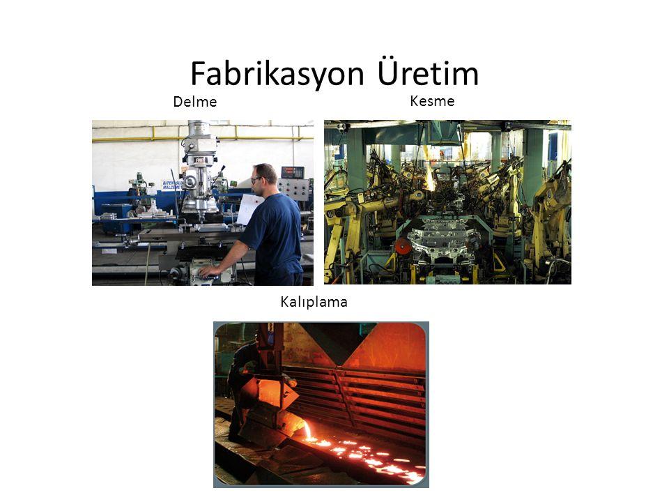 Fabrikasyon Üretim Delme Kesme Kalıplama