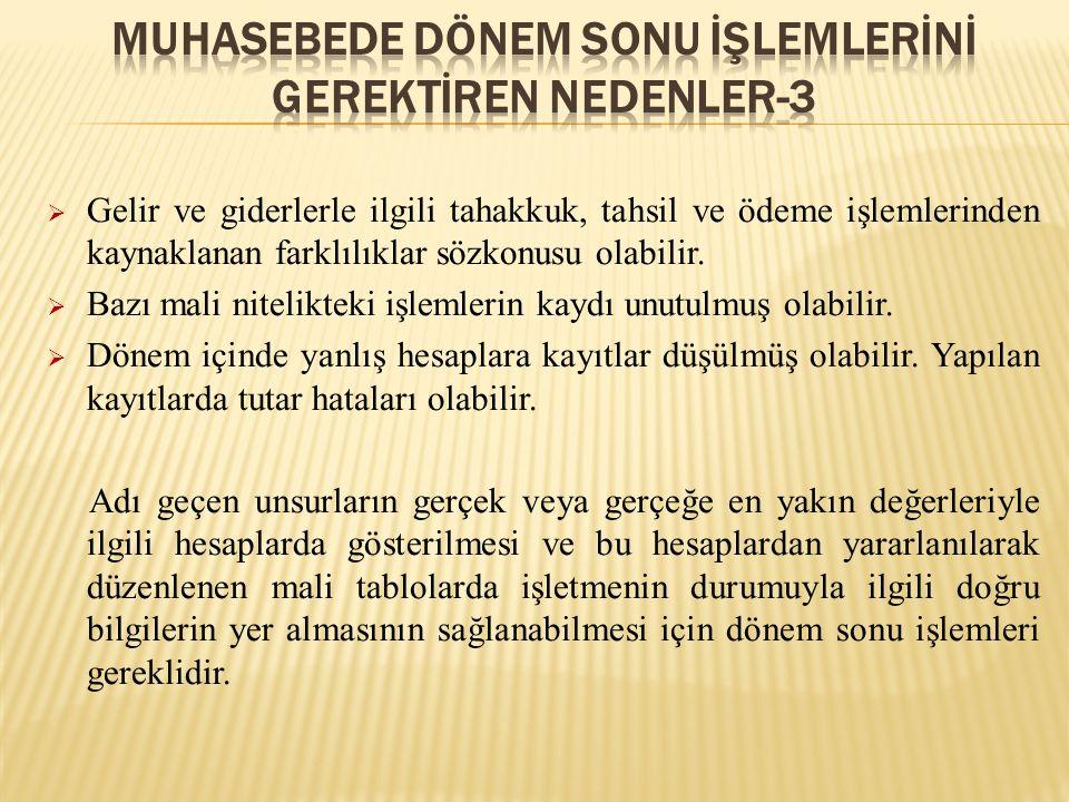 Değerleme ölçekleri;  Genel Kabul Görmüş Muhasebe İlkeleri (GKGMİ)  Türk Ticaret Kanunu (TTK)  Sermaye Piyasası Kanunu (SPK)  Vergi Usul Kanunu (VUK)  Türkiye Finansal Raporlama Standartları (TFRS)'nda ayrı ayrı tanımlanmışlardır.